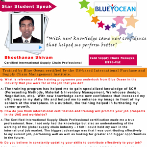 With new knowledge came new confidence that helped me perform better,Bhoothanan Shivam