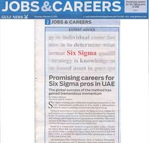Promising Career Opportunities for Six Sigma Professionals