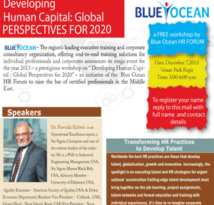 Developing Human Capital: Global Perspectives For 2020