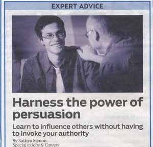 Unlock the three Secrets of Persuasion