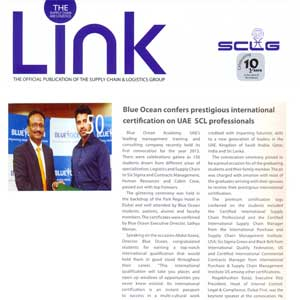 Blue Ocean Confers Prestigious International Certification on UAE SCL Professionals