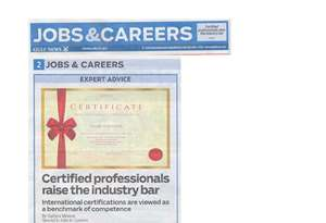 Certified Professionals Raise the Bar
