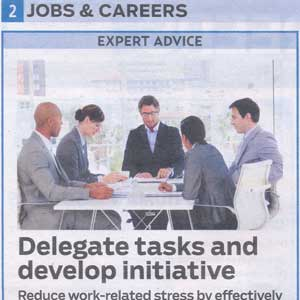 Delegate Tasks and Develop Initiative