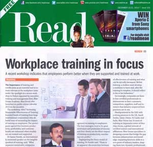 Workplace Training in Focus