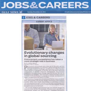 Evolutionary Changes in Global Sourcing