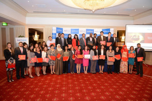 Blue Ocean students receive international certificates at a glittering convocation ceremony at the Radisson Blu Hotel in Dubai recently.