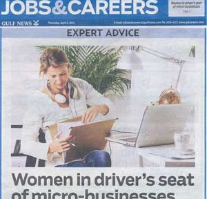 Women in driver's seat of micro-busines