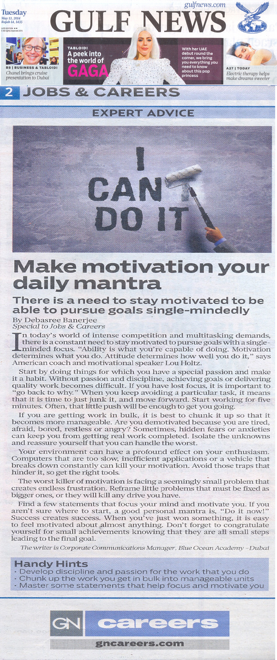 Make motivation your daily mantra
