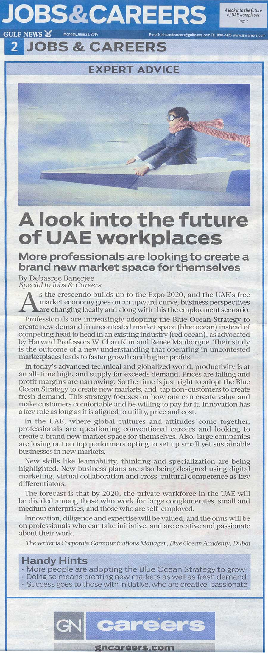 A Look Into The Future Of Uae Workplaces Blue Ocean