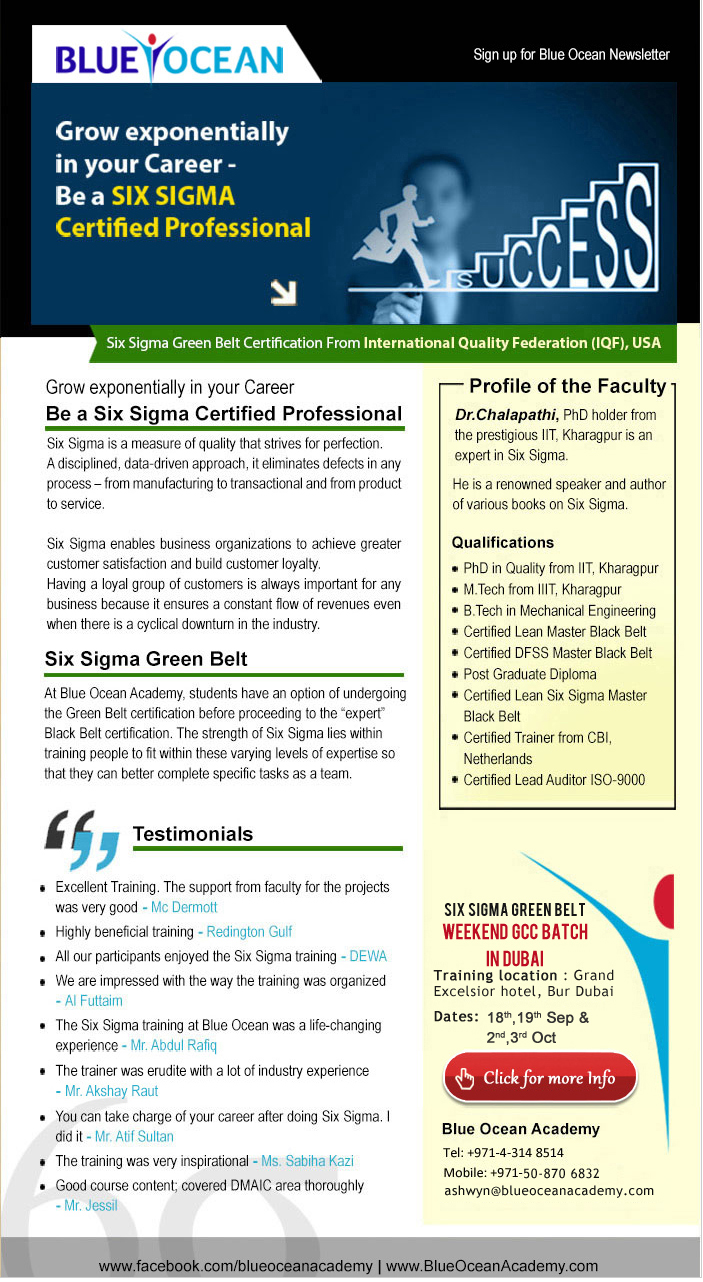 Six sigma green belt certification from international quality six sigma green belt certification from international quality federation iqf usa 1betcityfo Gallery