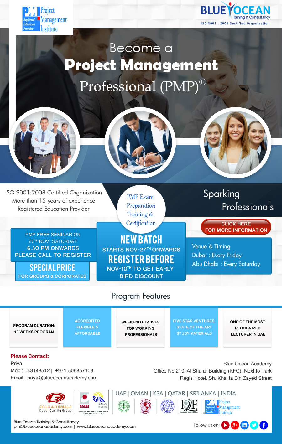 Become a Project Management Professional (PMP)