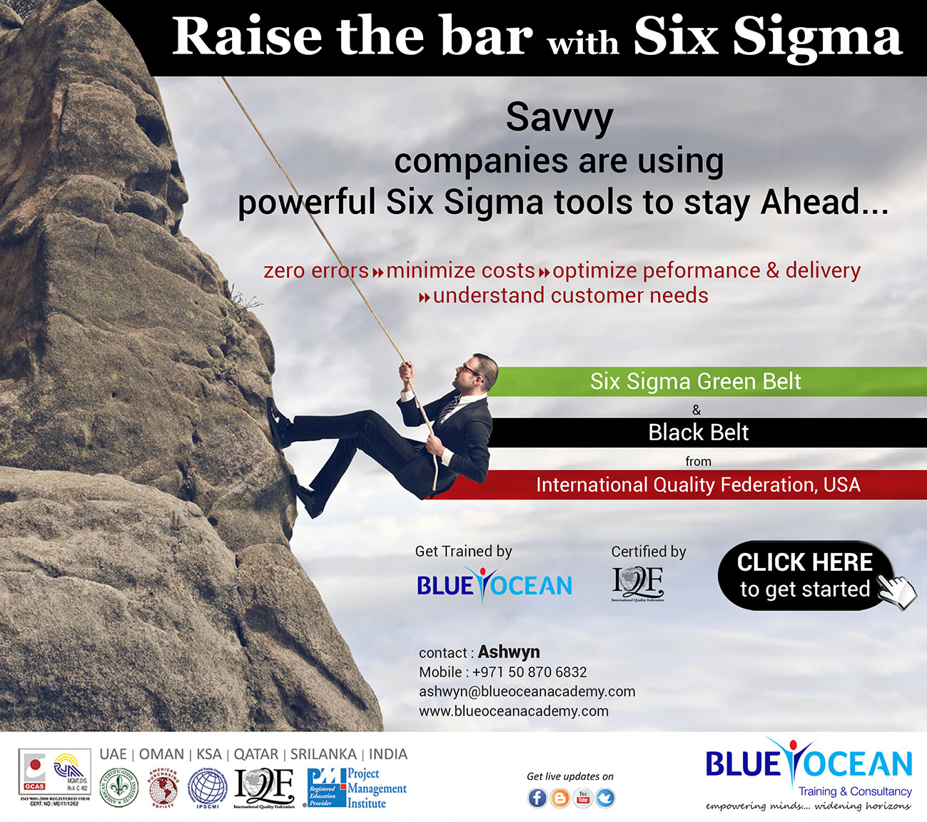 Raise The Bar With Six Sigma