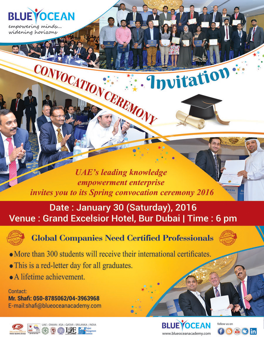 Convocation Ceremony 2016