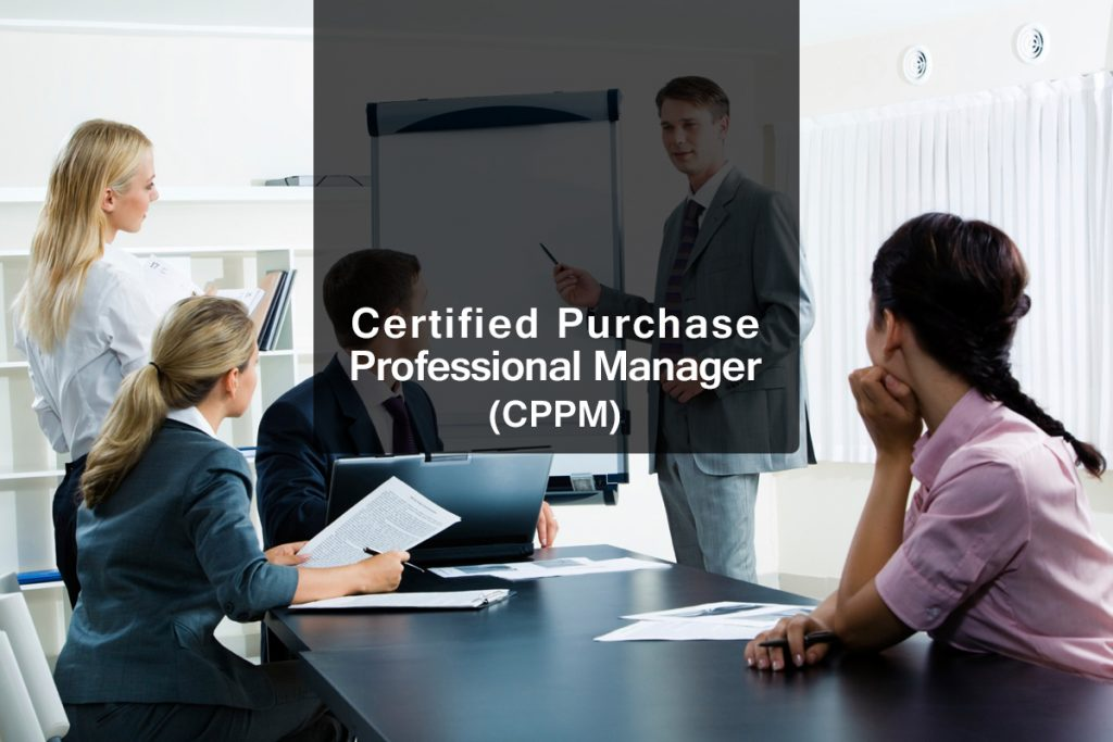 On Becoming a Certified Professional Purchasing Manager | Blue Ocean ...