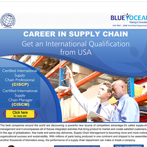 Career in Supply Chain