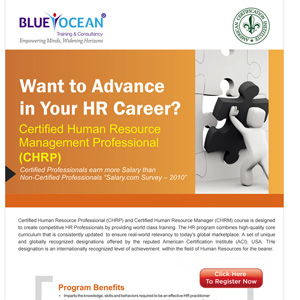 Certified Human Resource Management Professional (CHRP)