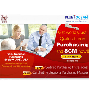 Get World Class Qualification In Purchasing And SCM