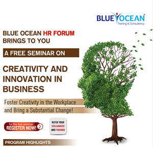 A free seminar on creativity and innovation in business