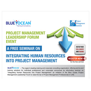 Project Management Leadership Forum Event