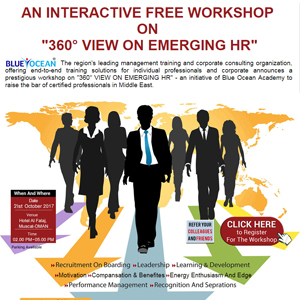 An Interactive Free Workshop On 360 degree View On Emerging HR