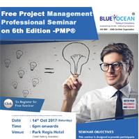 Free Project Management Professional (PMP®) Seminar on 6th Edition