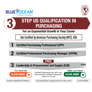 3 STEP US QUALIFICATION IN PURCHASING