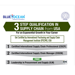 3 STEPS QUALIFICATION IN SUPPLY CHAIN FROM USA