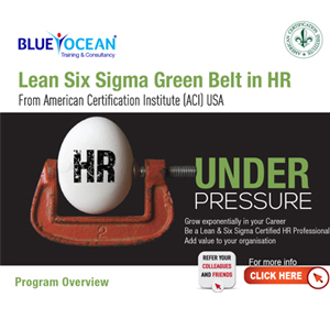 Be A Lean & Six Sigma Certified HR Professional