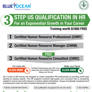 3 STEP US QUALIFICATION IN HR