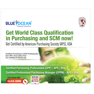 Qualification in Purchasing and SCM