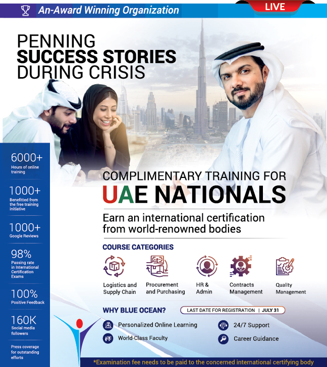 Free Training Courses for Emiratis