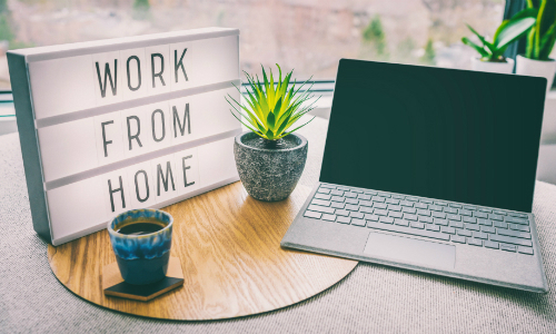 Work from home ethics