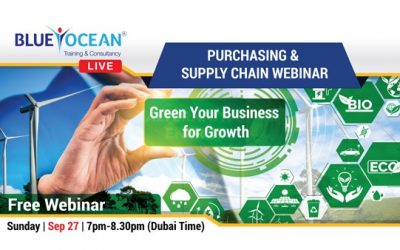Green Your Business for Growth – Purchasing and Supply Chain