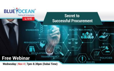 Free webinar on secret to successful procurement