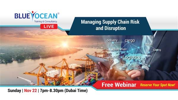 Managing supply chain risk and disruption